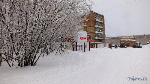 Фото города Инта №6514  Воркутинская 12а и 12 24.03.2014_17:12
