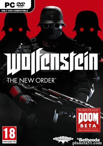 Wolfenstein: The New Order (2014/RUS/ENG/MULTi3/Repack)
