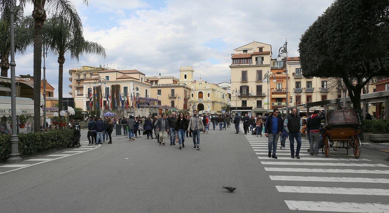 Сорренто. Площадь Тассо (Piazza Tasso)