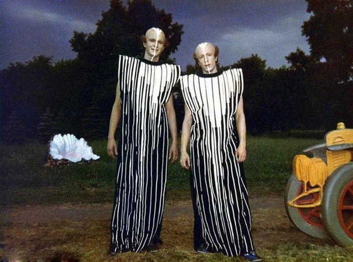 «Гостья из будущего»: Редкие интересные фотографии со съёмок фильма