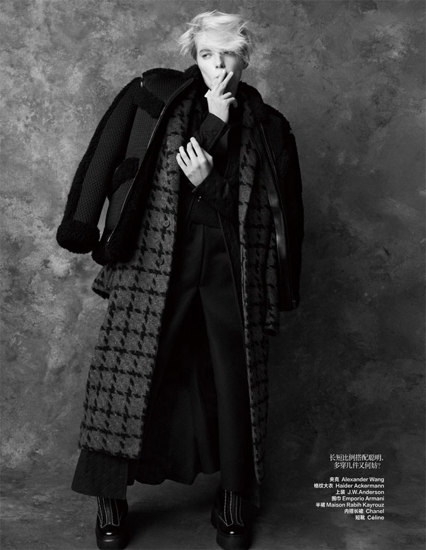 Эрика Линдера (Erika Linder) в журнале Harper's Bazaar China