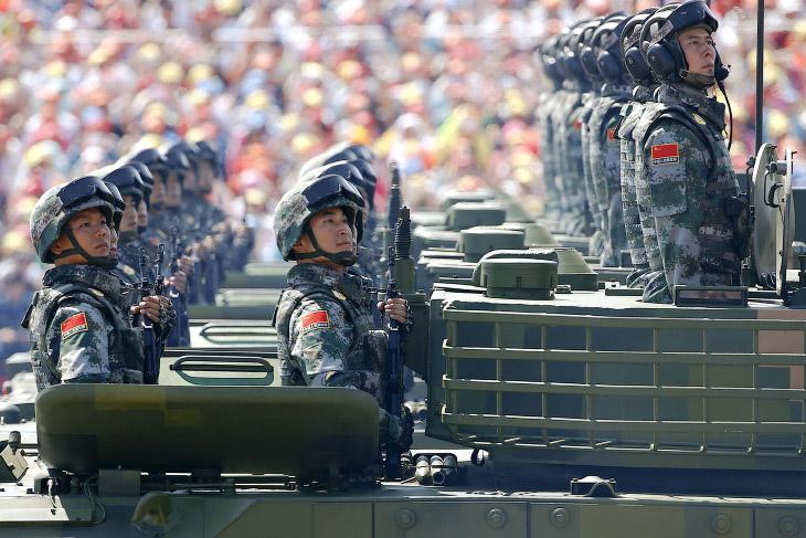 Масштабный парад по случаю 70-летия победы китайского народа в войне сопротивления с Японией, которо