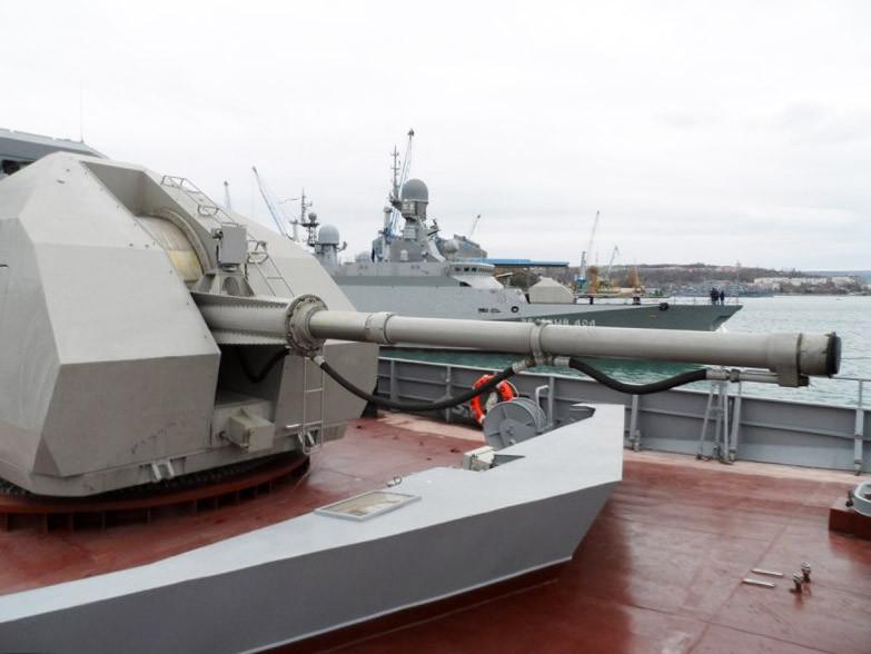 Пополнение Черноморского флота в Севастополе. Малые ракетные корабли