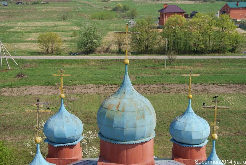 Кудыкина гора - вид с колокольни Храма Рождества Пресвятой Богородицы