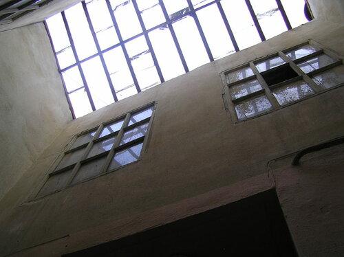Парадная со стеклянной крышей. Одесса.