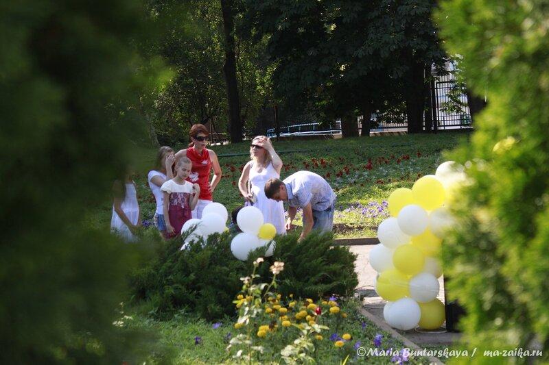 К Дню семьи, любви и верности, Саратов, парк 'Липки', 06 июля 2013 года