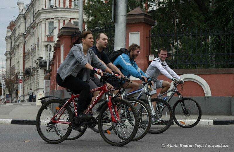 1 Год Саратов Велосипедный, Новая Набережная, 15 сентября 2013 года