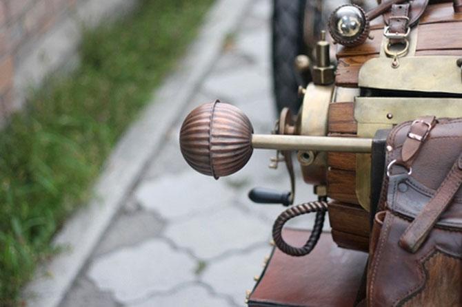 Стимпанк. История одного мотоцикла.