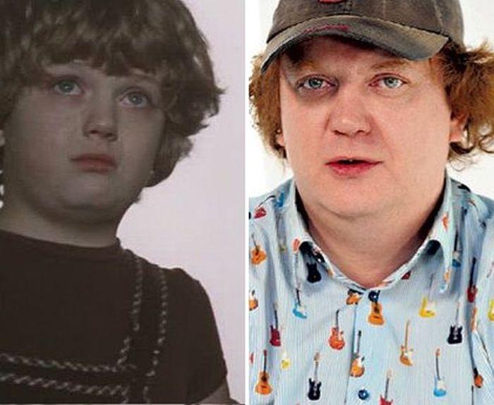 Актеры любимых фильмов для детей тогда и сейчас