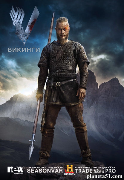 Викинги / Vikings - Полный 2 сезон [2014, WEB-DLRip, WEB-DL 1080p] (NewStudio)