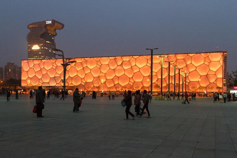Аквацентр, Олимпийский парк, Пекин