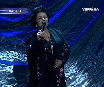 Наталья Могилевская в образе Людмилы Зыкиной