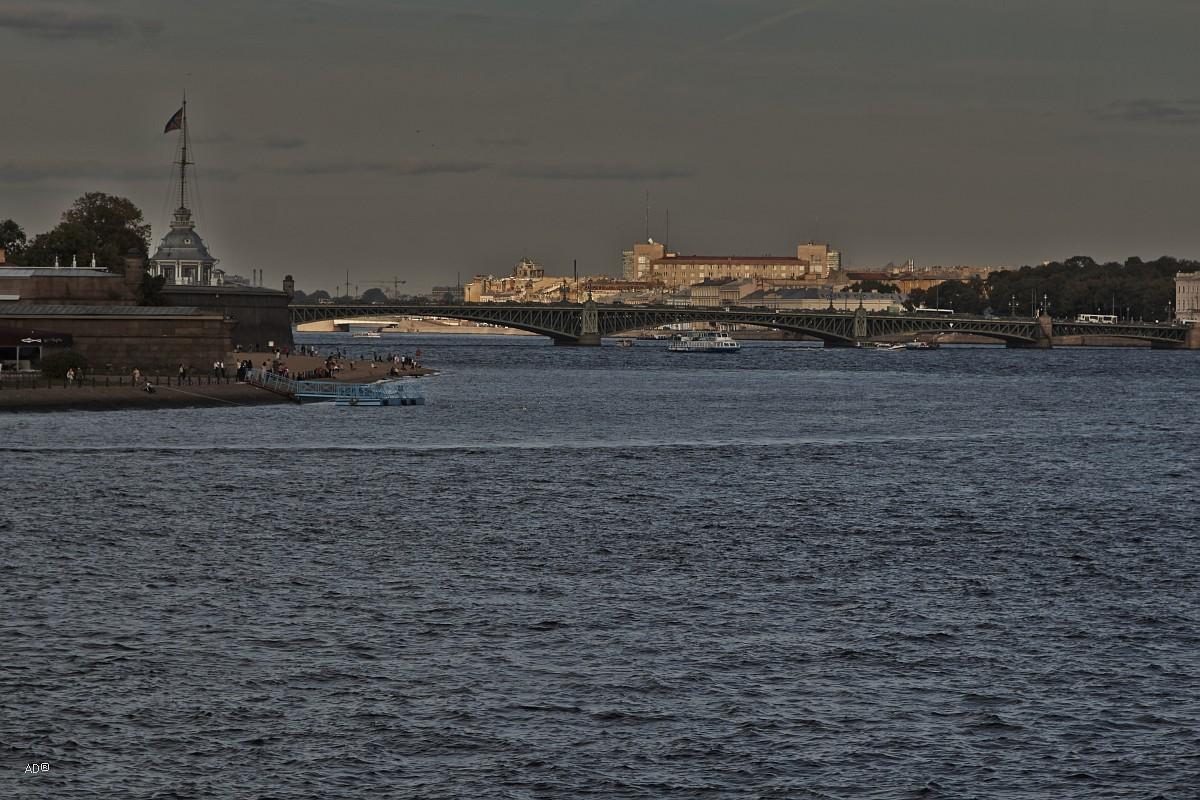 Санкт-Петербург, День первый