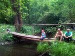 Необычный привал на реке Киреевке у деревни Головлино