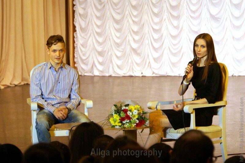 Светлана Захарова и Владимир Варнава