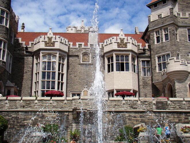 Замок Каса Лома (Casa Loma). Канада