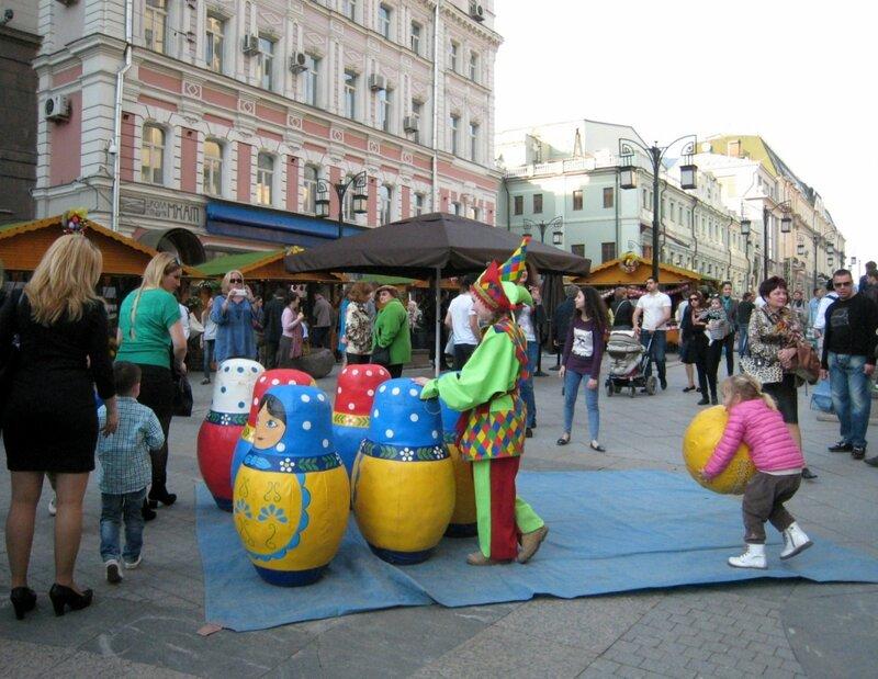 Пасха. Москва