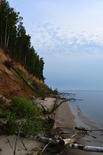 водохранилище берег