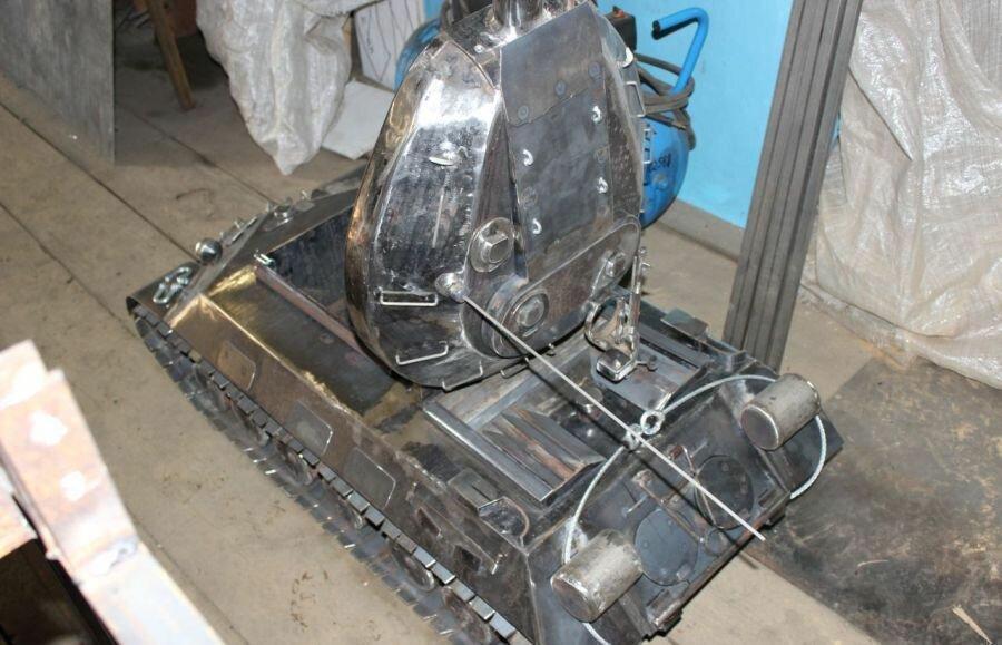 мангал ИС-3