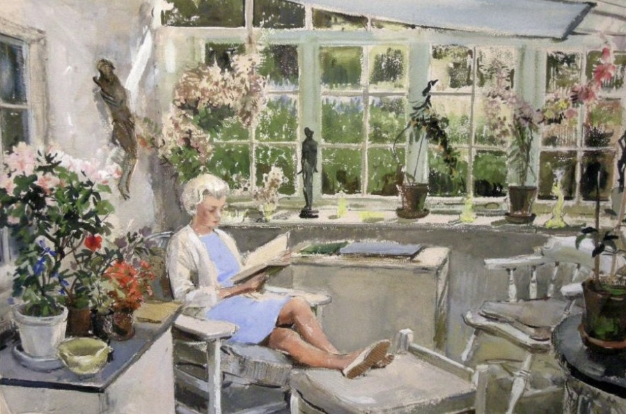 Маргарет, жена художника