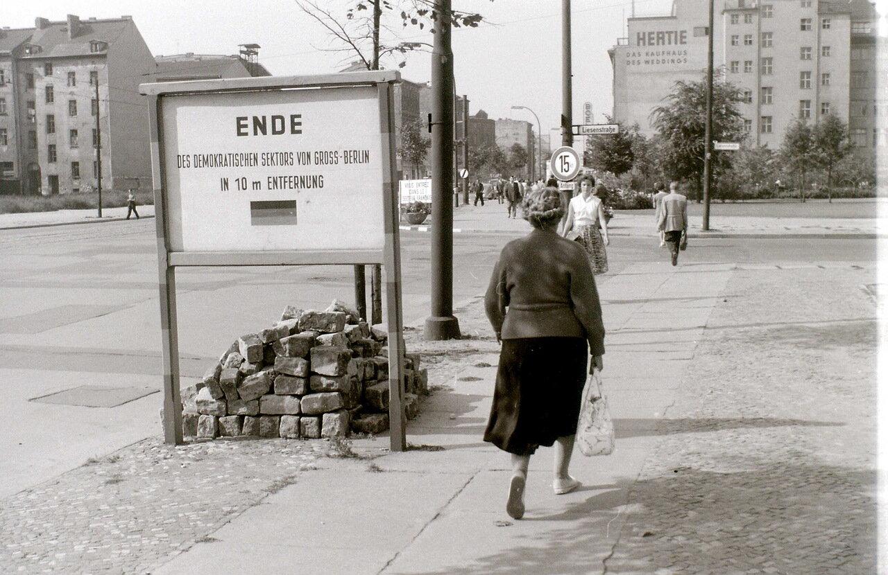 12 сентября 1959. На границе, Берлин