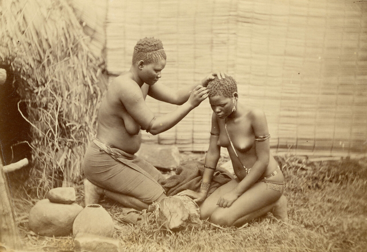 Замужняя зулуска. Южная Африка, конец XIX века
