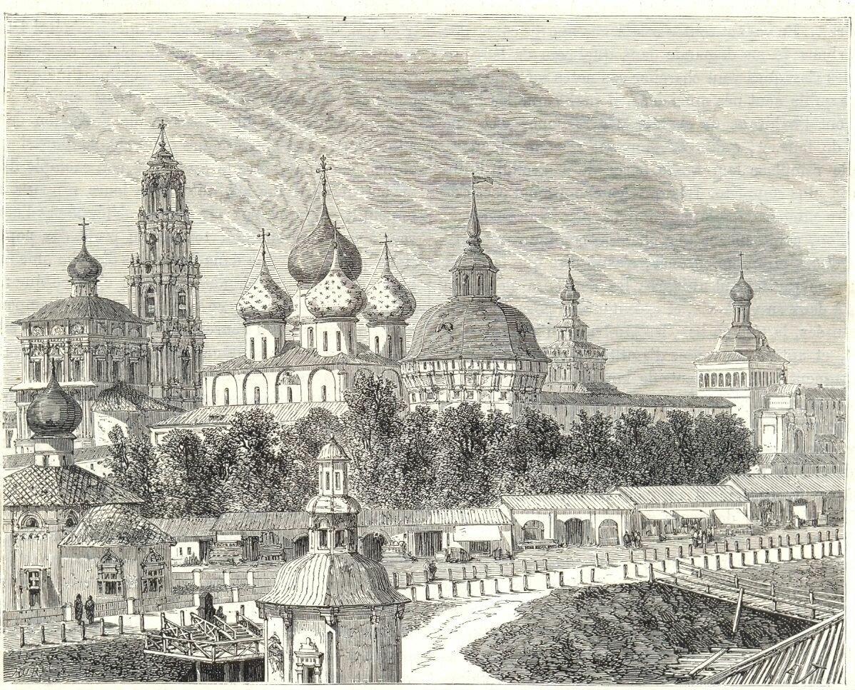 1865. Троице-Сергиева лавра.