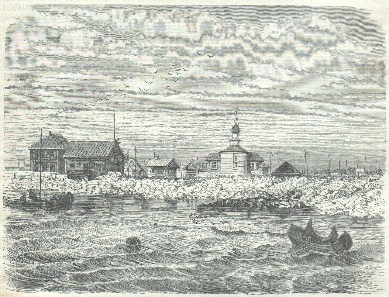 1872. Русская деревня