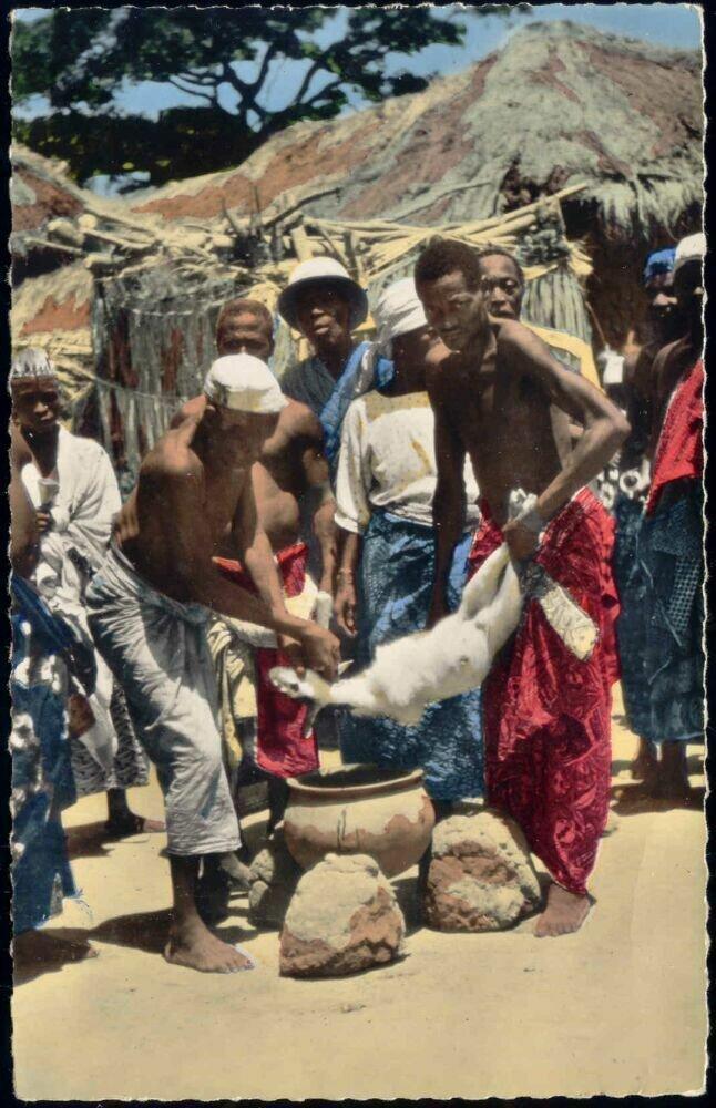1960. Ритуальное жертвоприношение