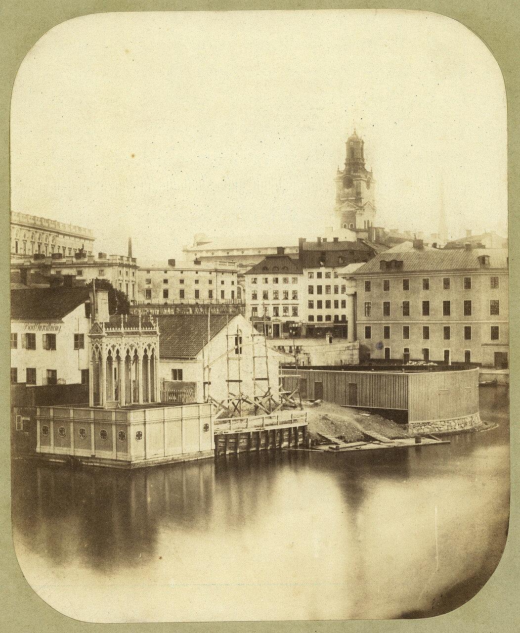 Стокгольм. Хельгеандсхольмен. 1855