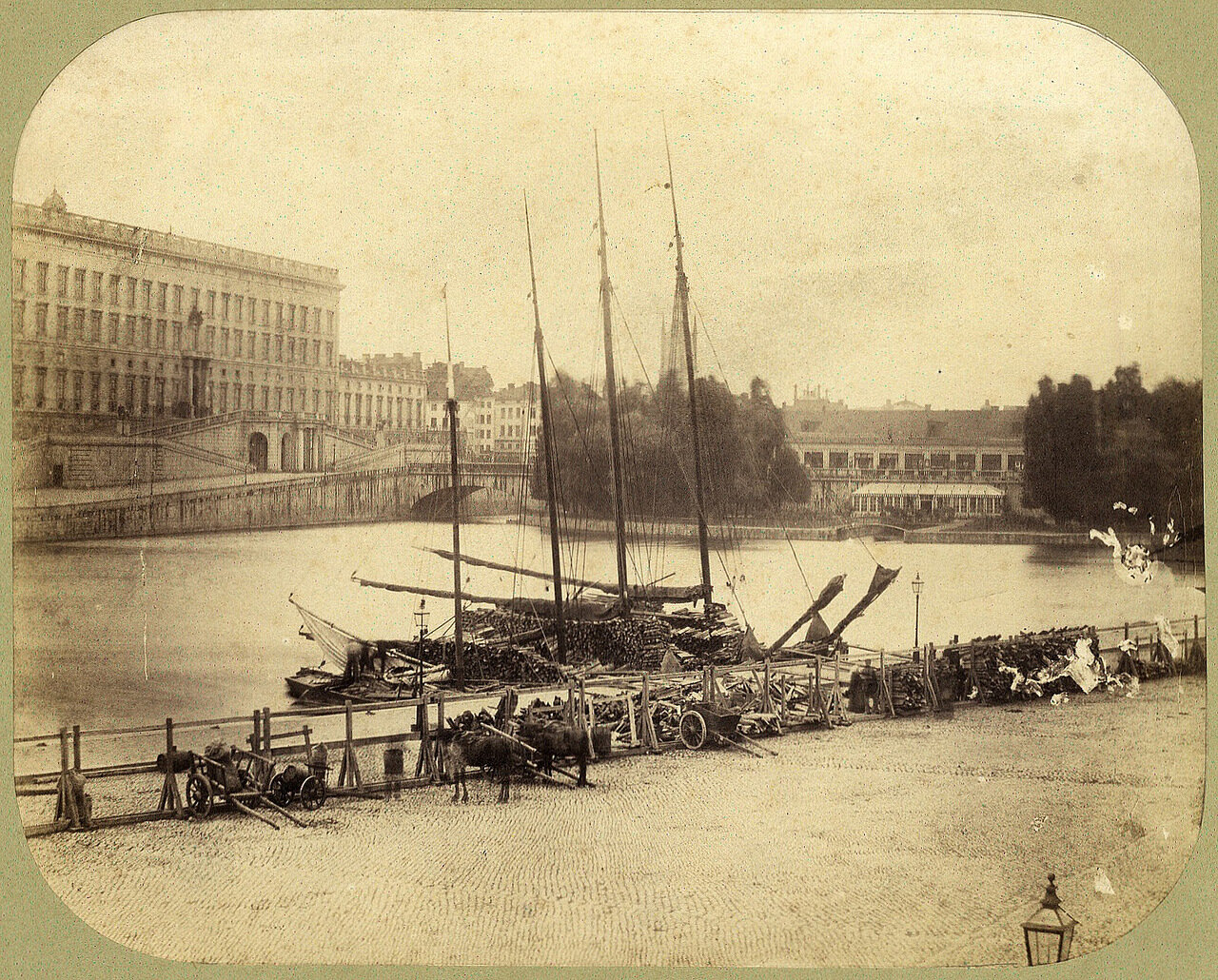 Стокгольм. 1855