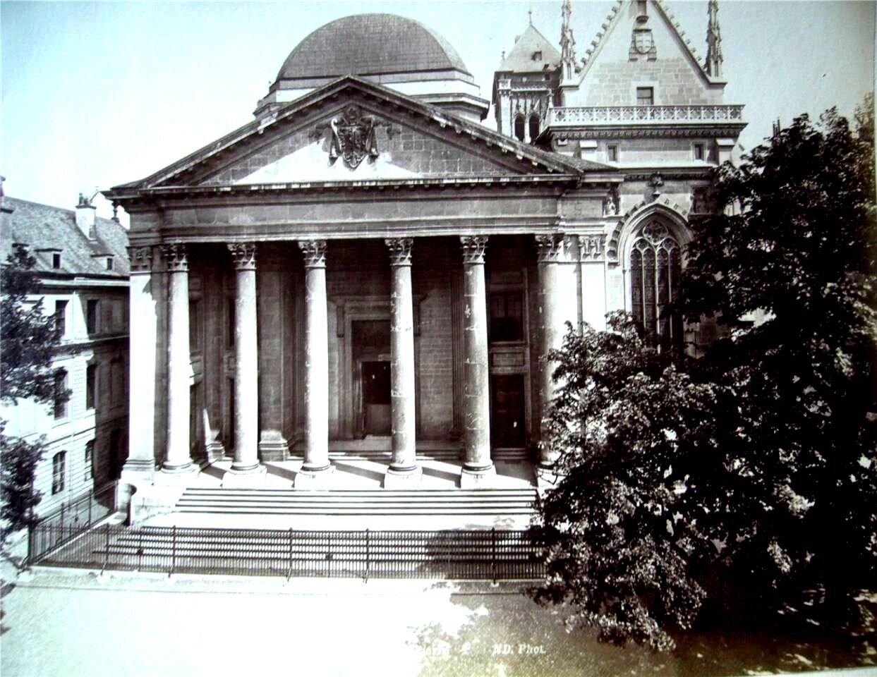 Женева. Церковь. 1870