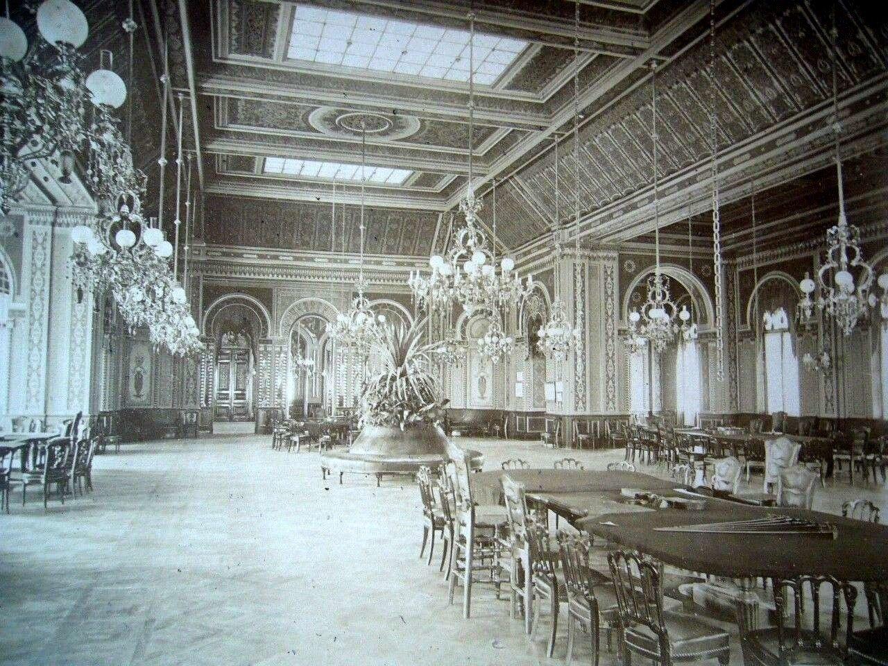 Монте-Карло. Интерьер казино. 1870
