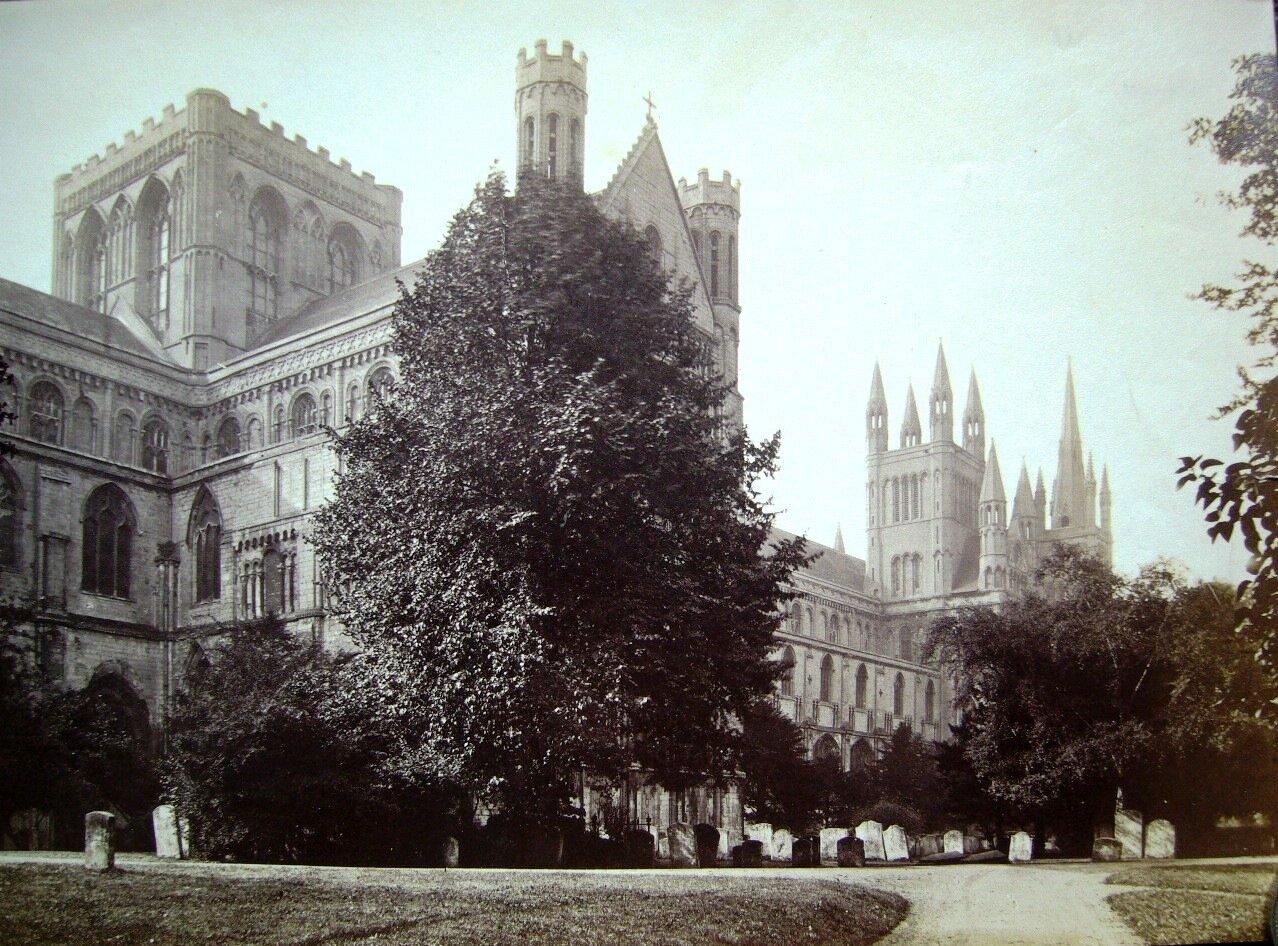 Питерборо. Собор в Питерборо. 1870