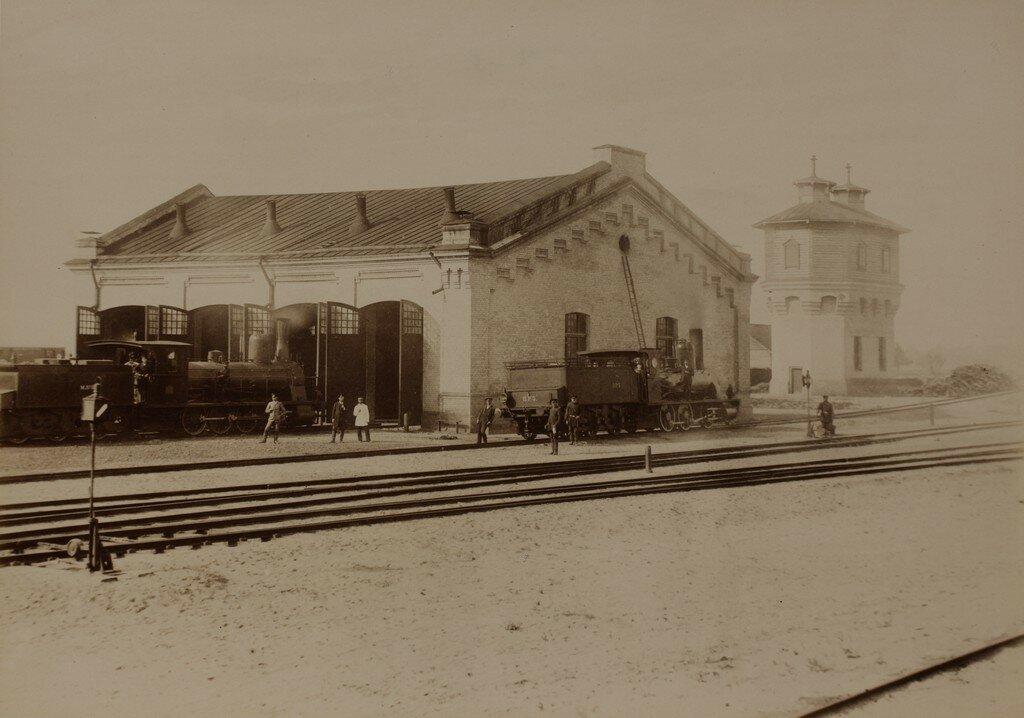 Рига. Железнодорожная станция