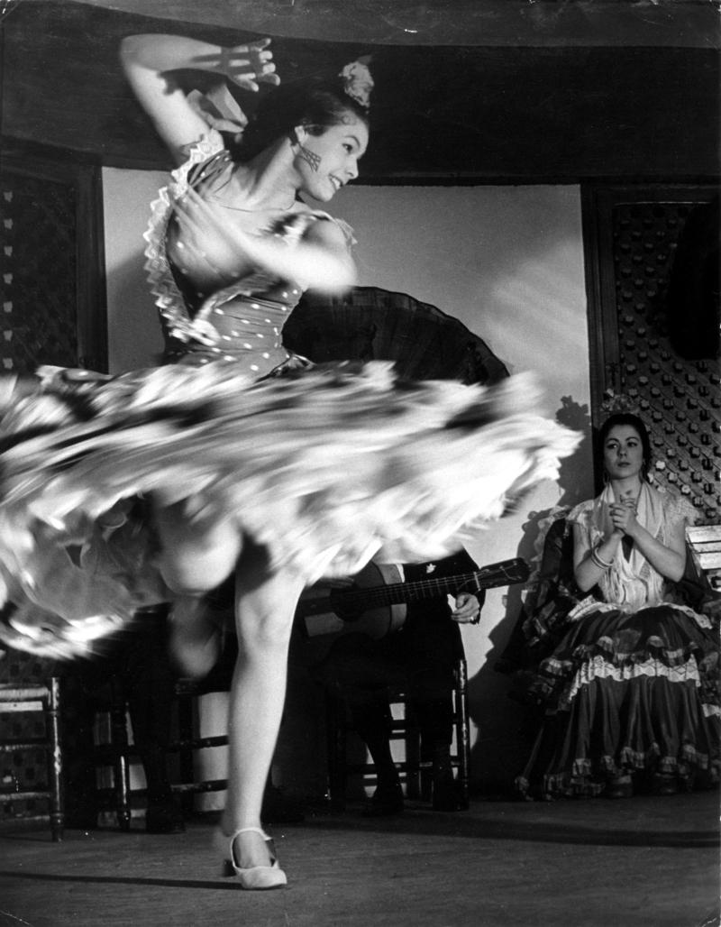 Цыганская танцовщица