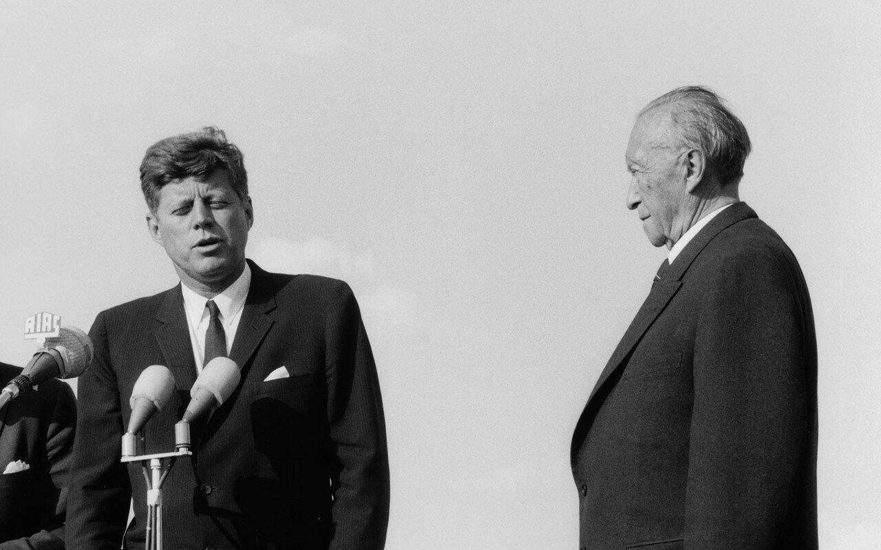 26 июня 1963. Выступление Кеннеди перед жителями Берлина