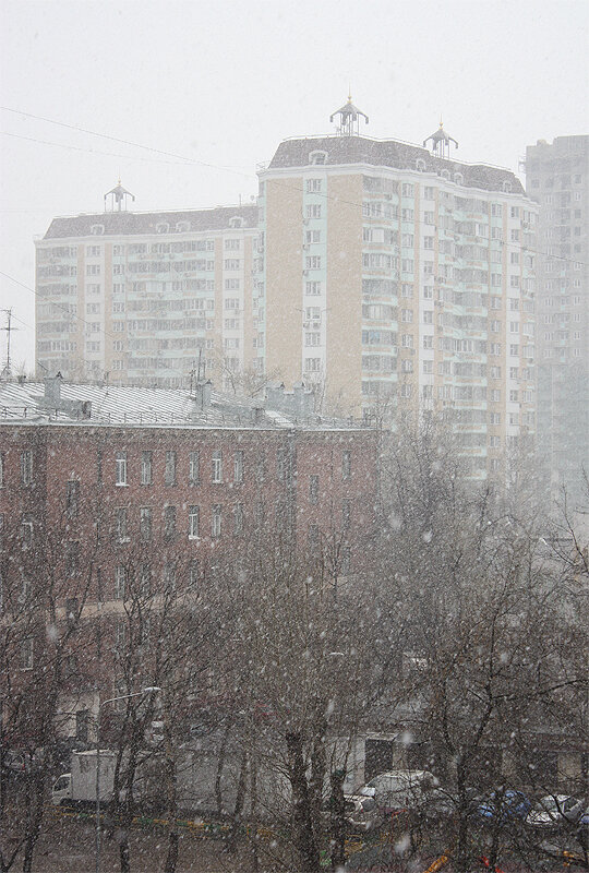 Москва, Лефортово, 31 марта 2014