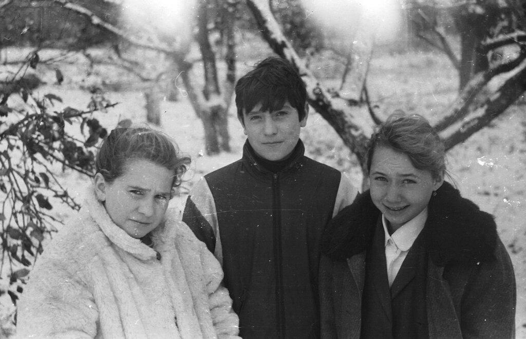 Трескино, школа , конец 80-х