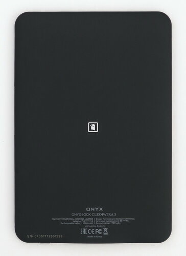 ONYX BOOX Cleopatra 3 - вид сзади