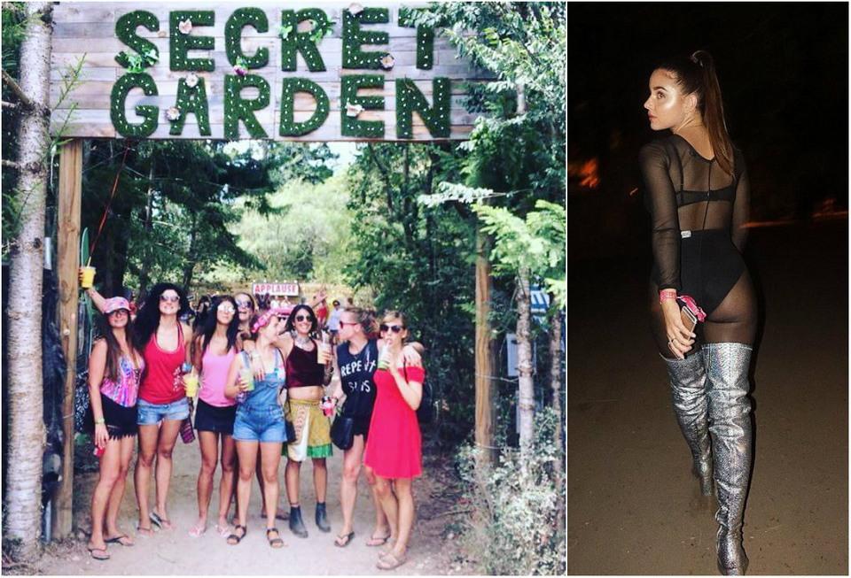 Блестки, японские школьницы и будка для поцелуев:  48-часовой Secret Garden Festival