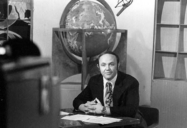 Редкие фото из архива советского телевидения