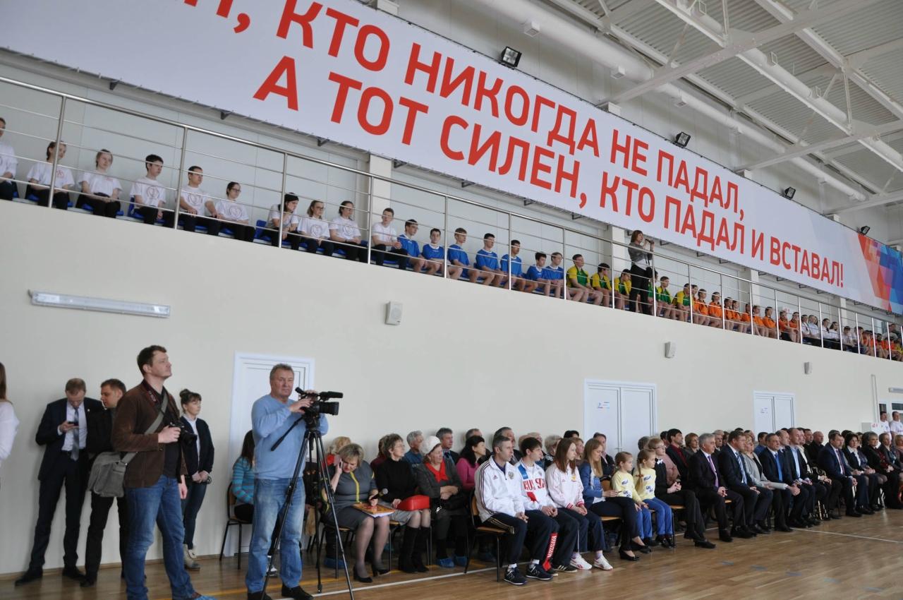 В г. Кораблино открыт новый физкультурно-оздоровительный комплекс «Рекорд»