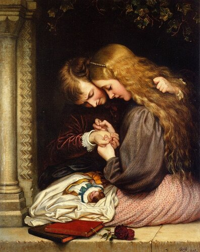 Charles West Cope – The Thorn