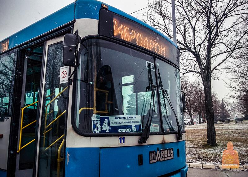 В аэропорт Ниш ходит рейсовый автобус