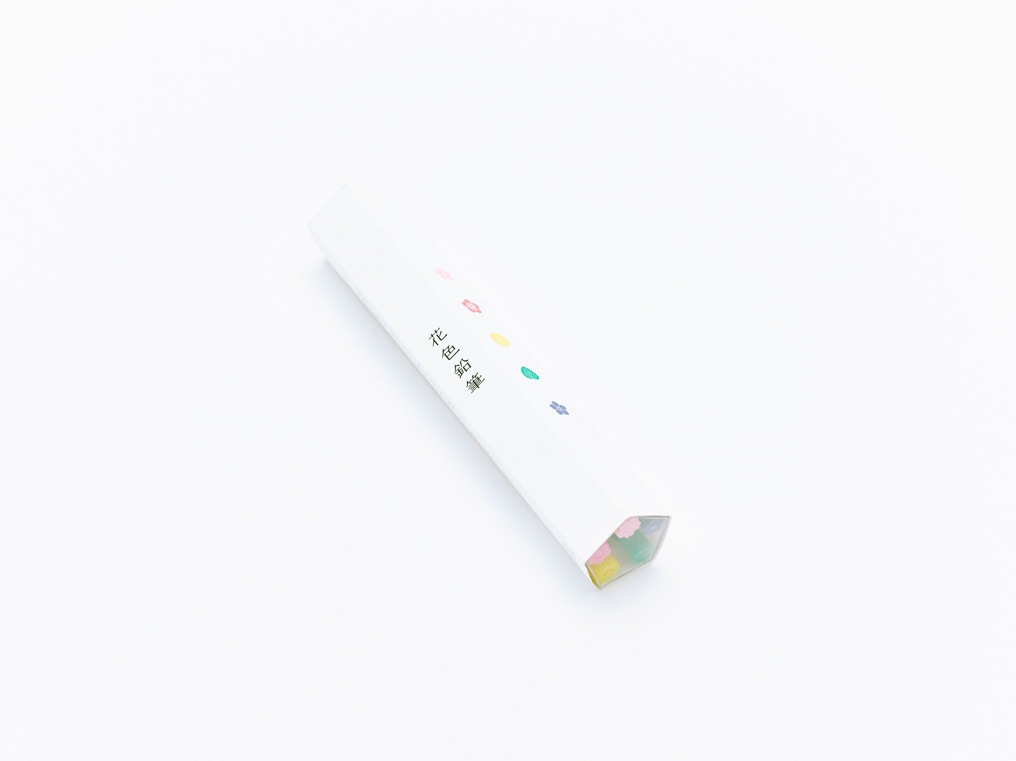 Colored Pencils That Sharpen Into Symbolic Japanese Flowers and Plants