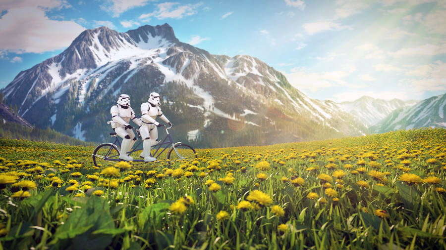 Star Wars Characters on Vacation (5 pics)