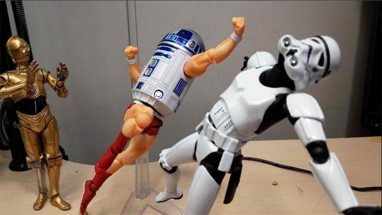 When you are mixing the Star Wars figurines (16 pics)