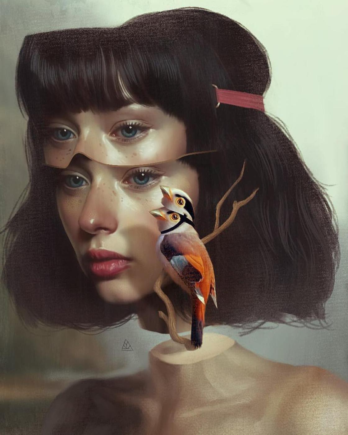Dreamer – The latest surreal illustrations by Aykut Aydogdu