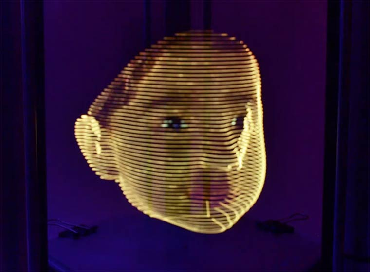 Printing light in 3D – This concept mixes 3D printing and light painting